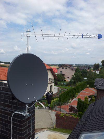 montaż anten ustawienie anteny Zabrze Ruda Śląska Gliwice Bytom