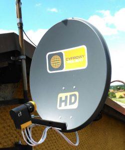Montaż anteny Zabrze, ustawienie anteny Zabrze, montaż anten Zabrze